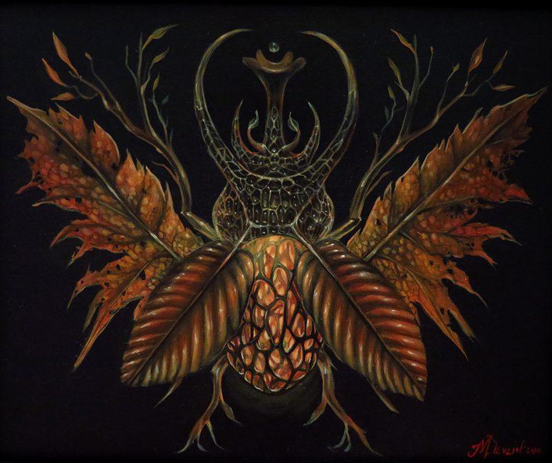 Molly Devlin - Fall Horned Beetle