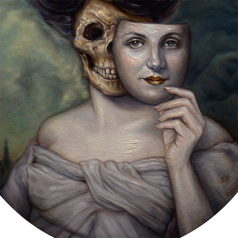 Sonya Palencia - The Gilded Kiss (Detail 2)