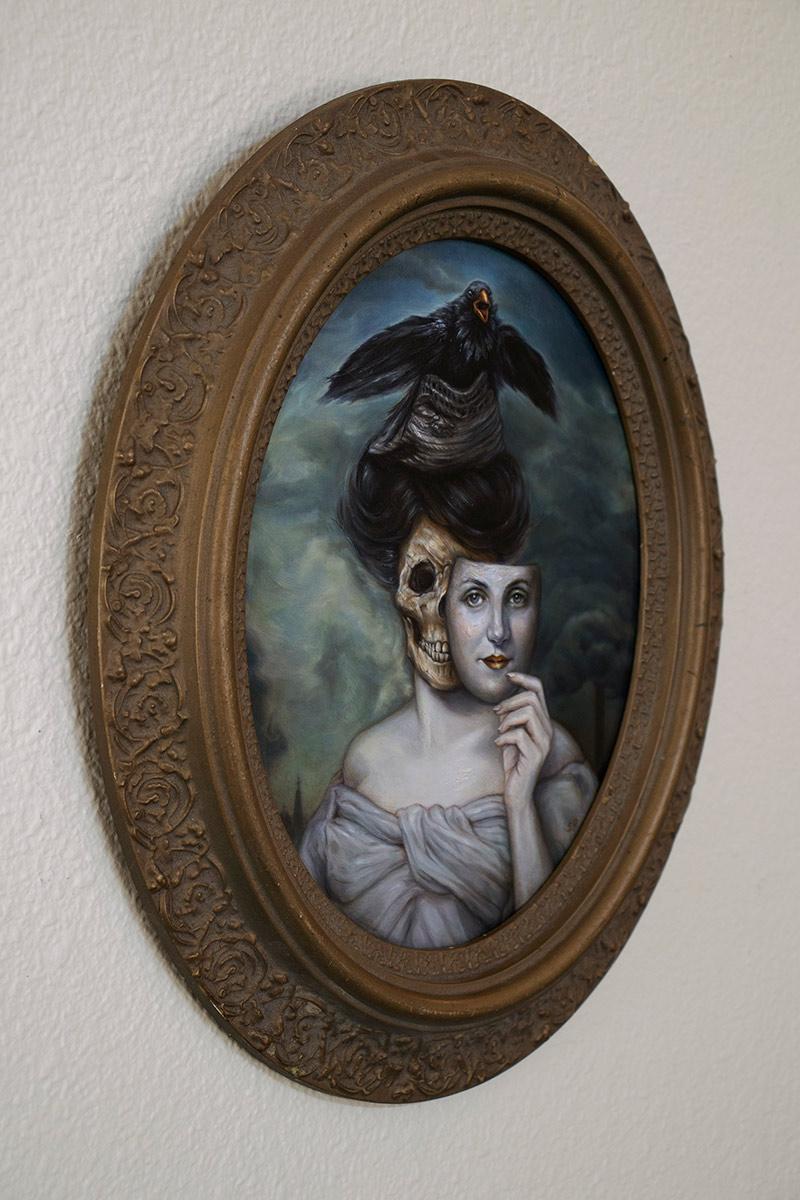 Sonya Palencia - The Gilded Kiss (Framed - Side)