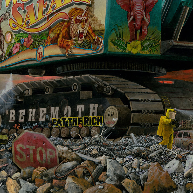 Thomas A. Gieseke - Behemoth (Detail 2)