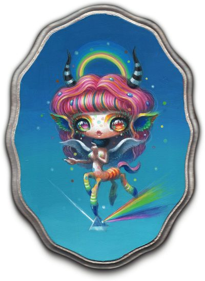 Yoko d'Holbachie - Prismatic Angel