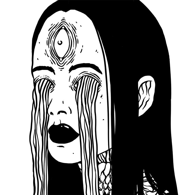 Carxlina Salas - Weeping (Detail 1)