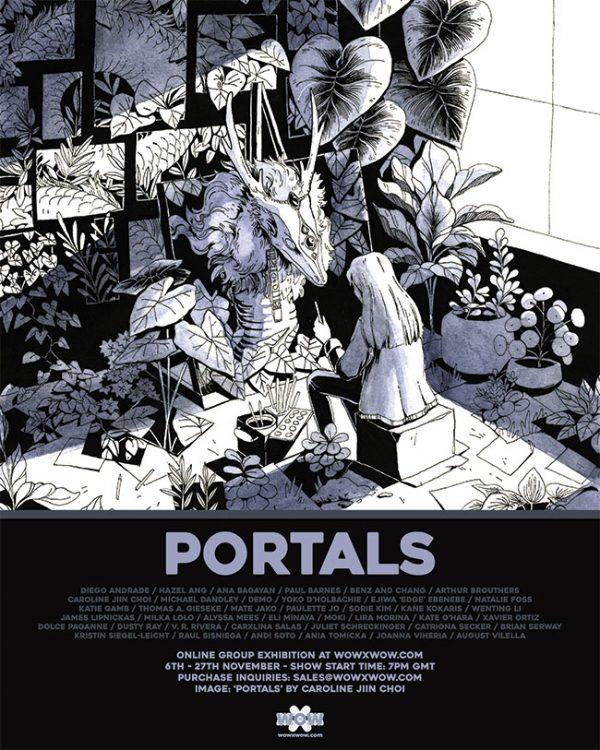 Portals - Flyer (Caroline Jiin Choi)