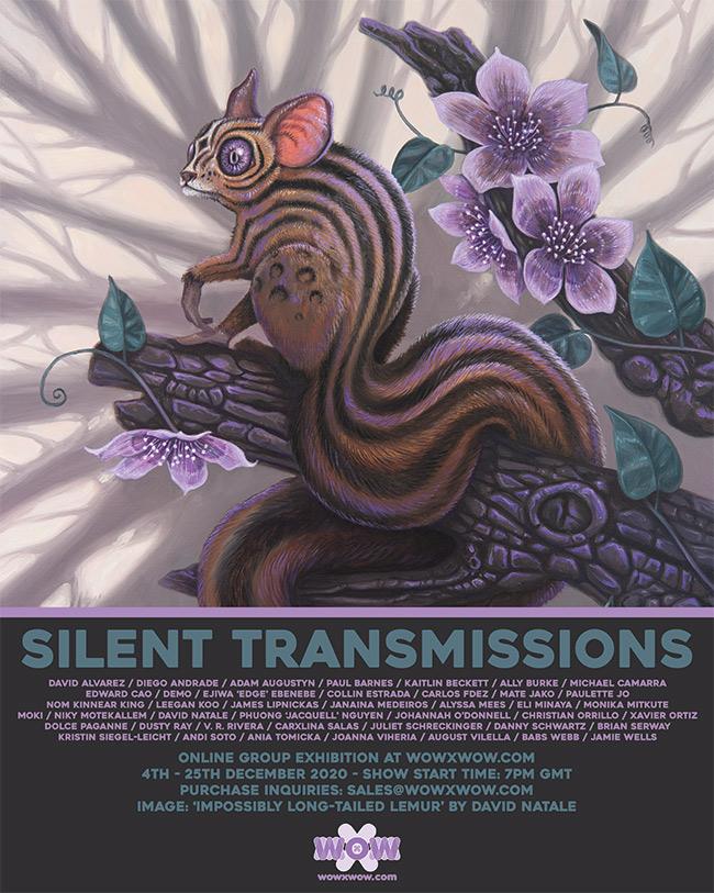 Silent Transmissions - Flyer (David Natale)