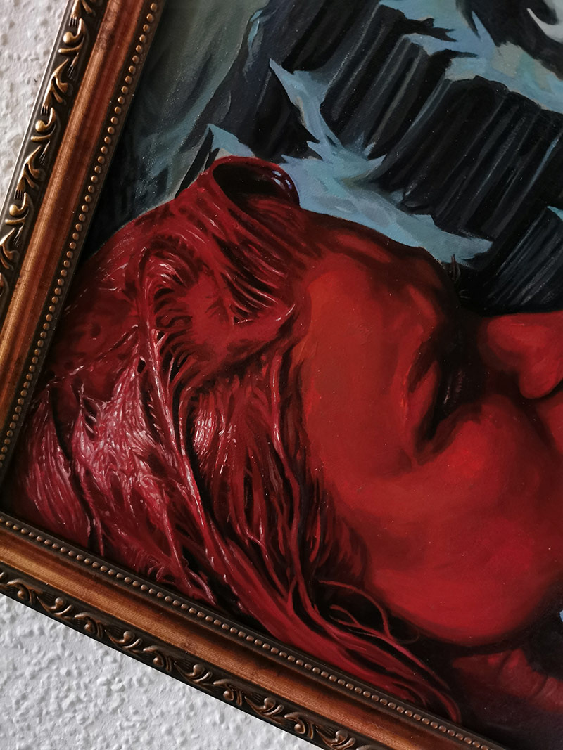 Andreas Nagel - Blood Night (Frame Detail 2)