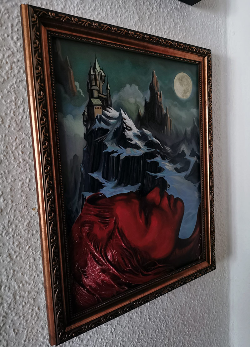 Andreas Nagel - Blood Night (Framed - Side)