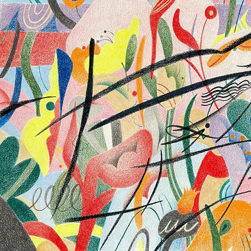 Gizem Vural - Lost in Flower Garden (Detail 2)