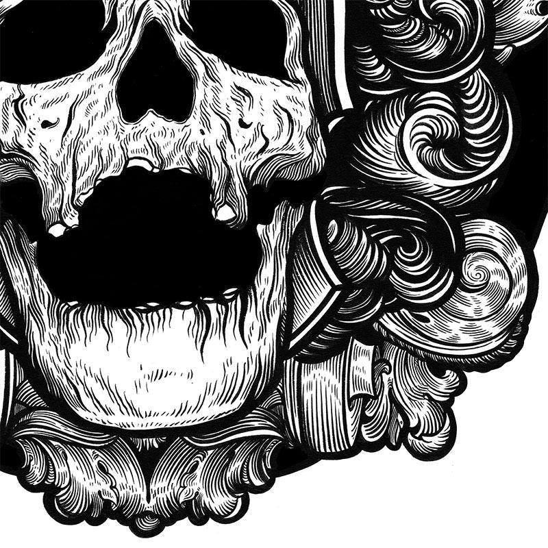 J. M. Dragunas - Death Circle (Detail 2)
