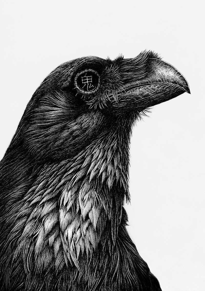 Karl Trewhela - Ghost Raven