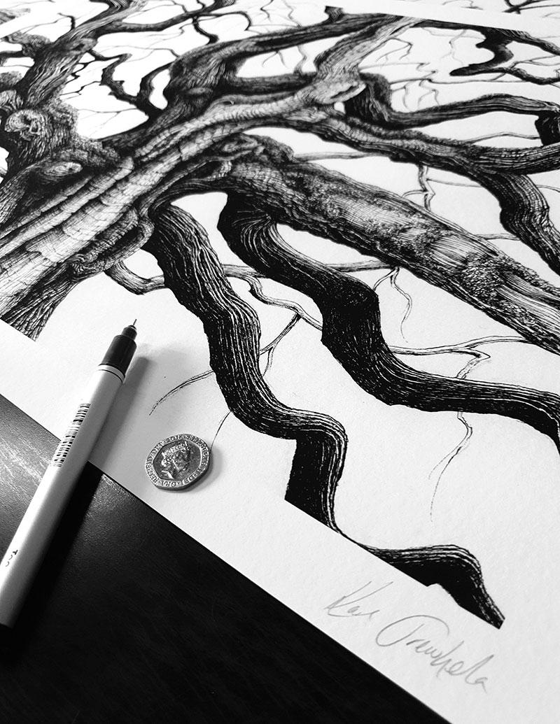 Karl Trewhela - Great Oak (Scale)