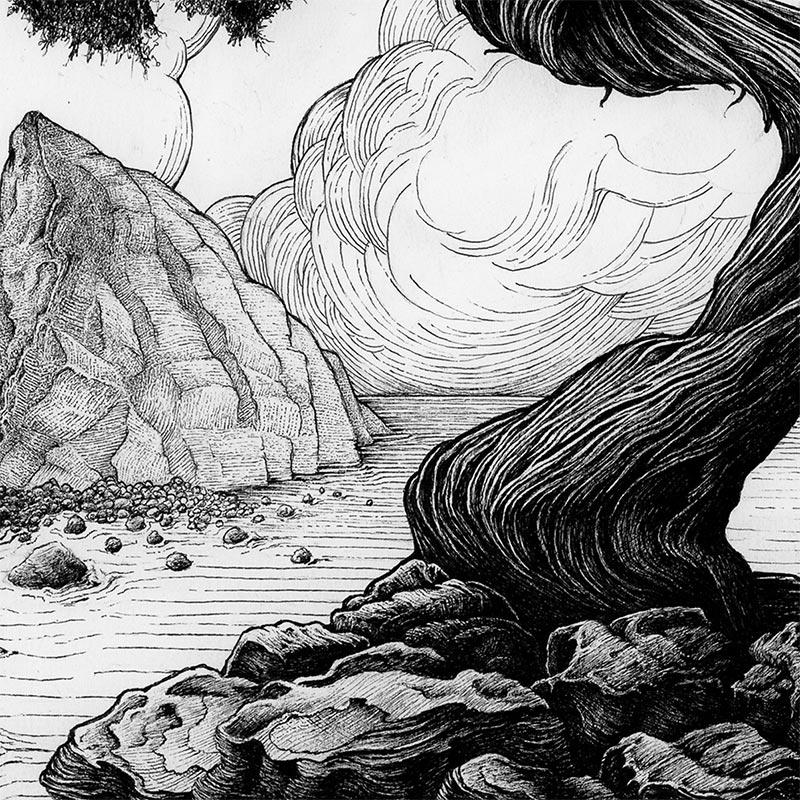 Karl Trewhela - Juniper 2 - Tree 4 (Detail 2)