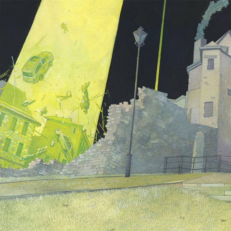 Michael Dandley - Don't Look Up (Detail 1)