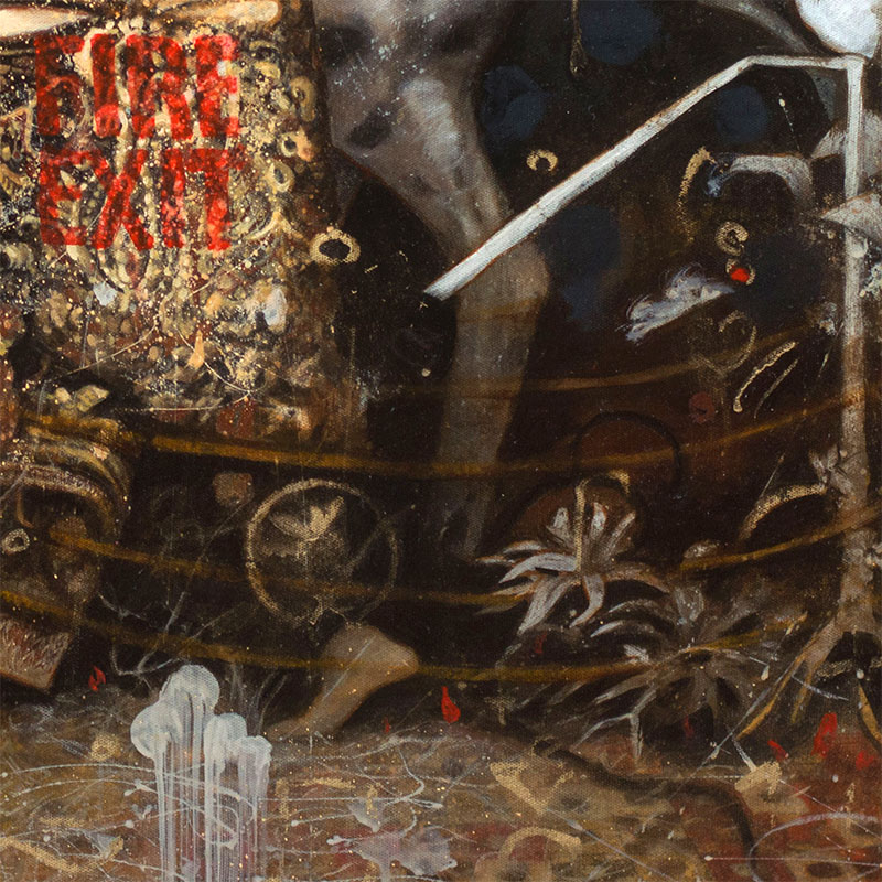 Pavel Guliaev - Fire-exit (Detail 4)