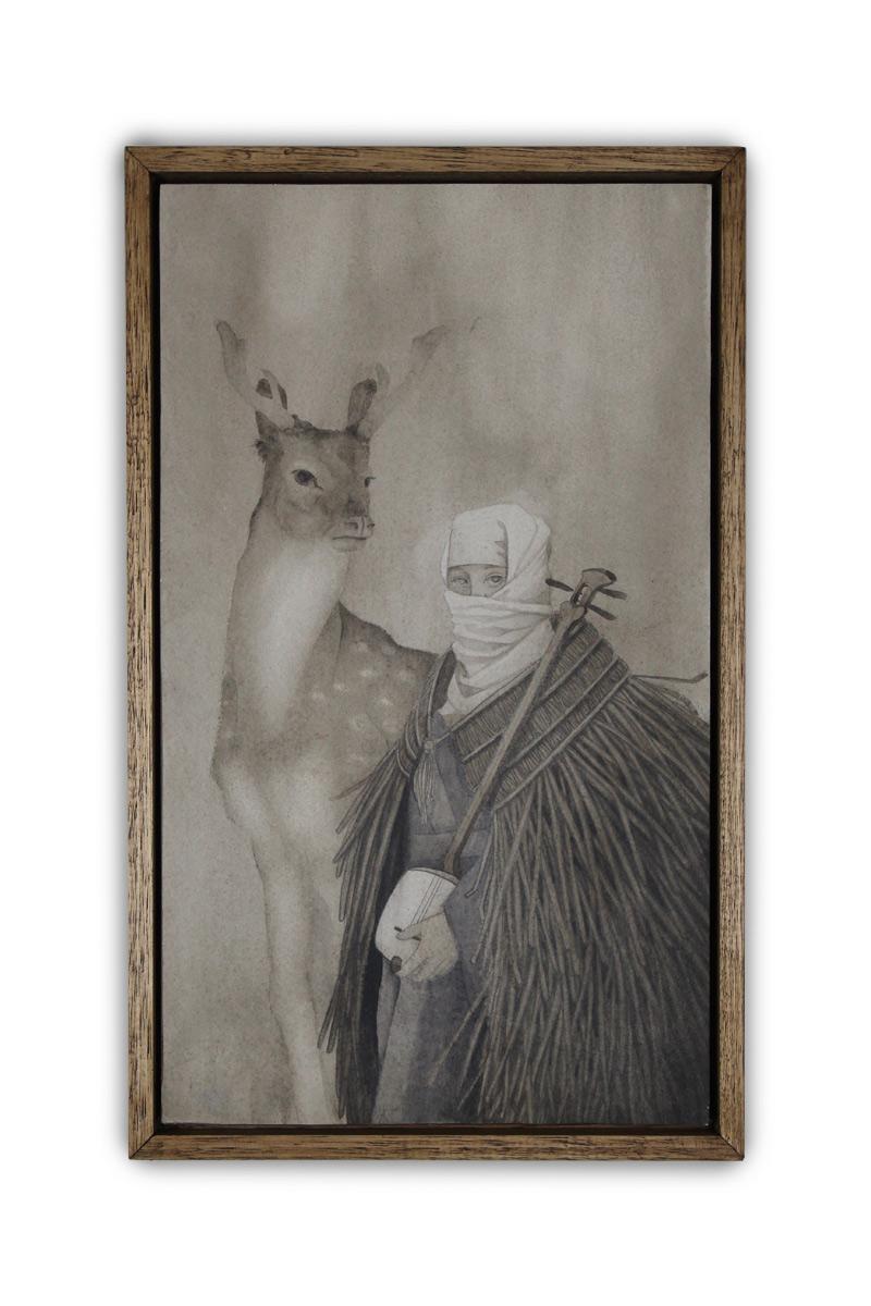 Robert Duxbury - In Stillness (Framed - Front)