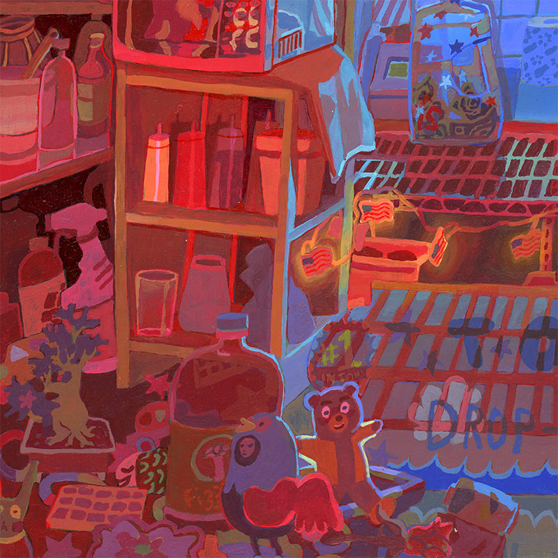 Savanna Judd - The Collector 1 (Detail 2)