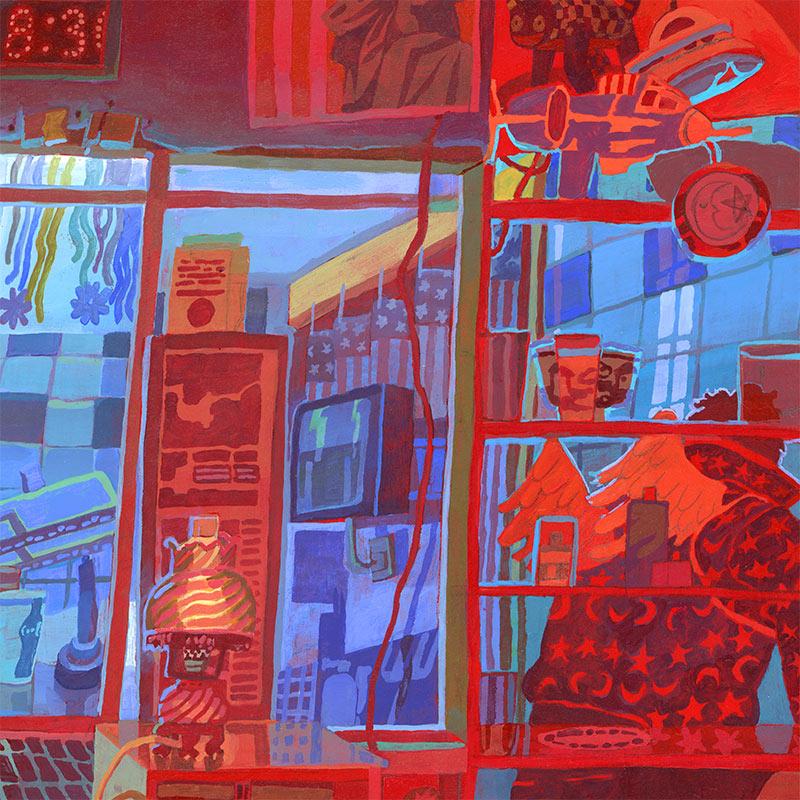 Savanna Judd - The Collector 1 (Detail 3)