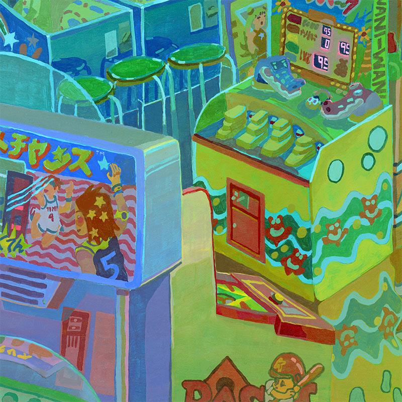 Savanna Judd - The Collector 2 (Detail 2)