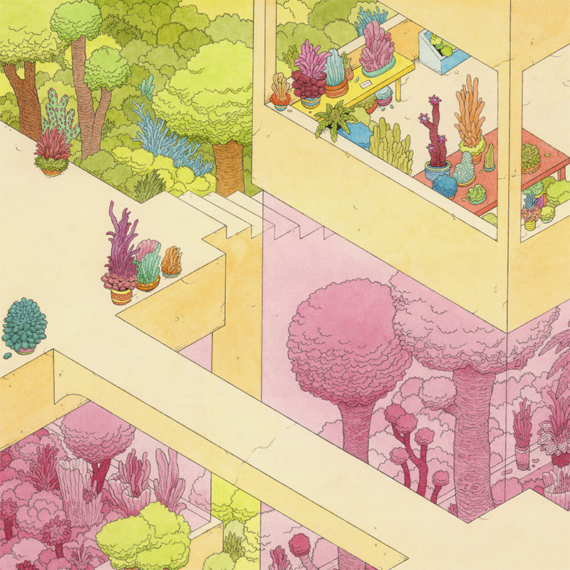 Tim Molloy - Sub-Dimensional Nursery (Detail 1)