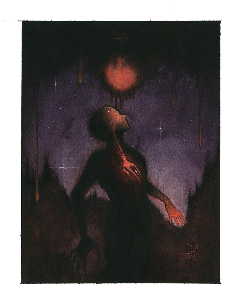 Xavier Ortiz - Dark Violet (Border)