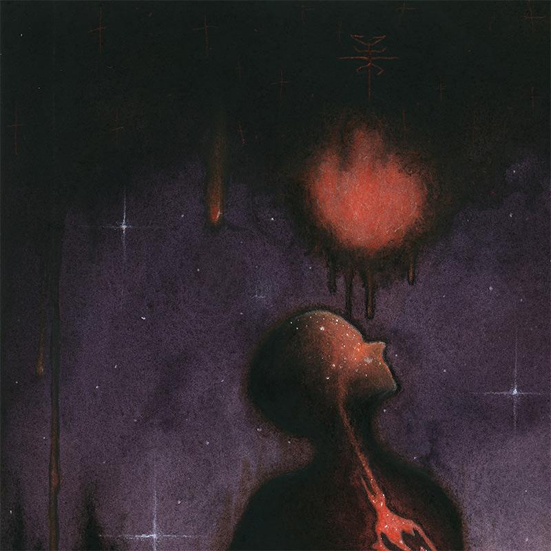 Xavier Ortiz - Dark Violet (Detail 1)
