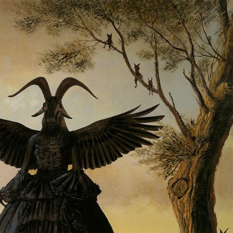 Bill Mayer - The Ritual (Detail 1)
