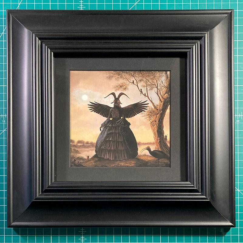 Bill Mayer - The Ritual (Framed - Desk)