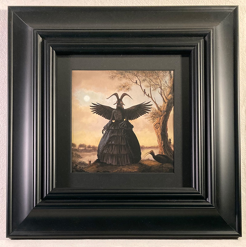Bill Mayer - The Ritual (Framed - Front)