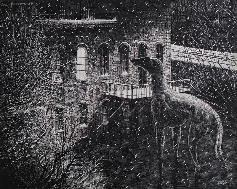Calvin Laituri - January on Arch Street