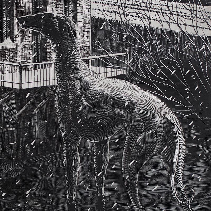 Calvin Laituri - January on Arch Street (Detail 2)