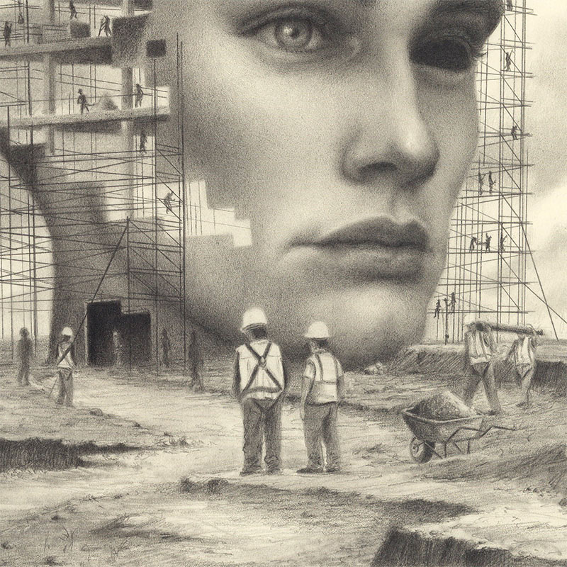 Carlos Fdez - Under Construction (Detail 2)