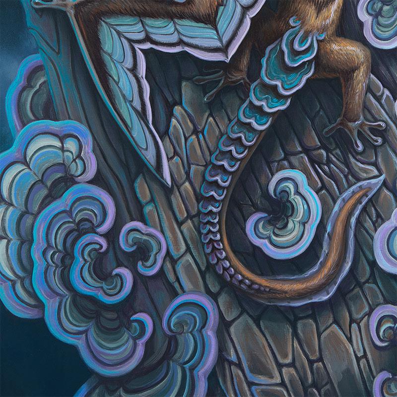 David Natale - Mushroom Glider (Detail 2)