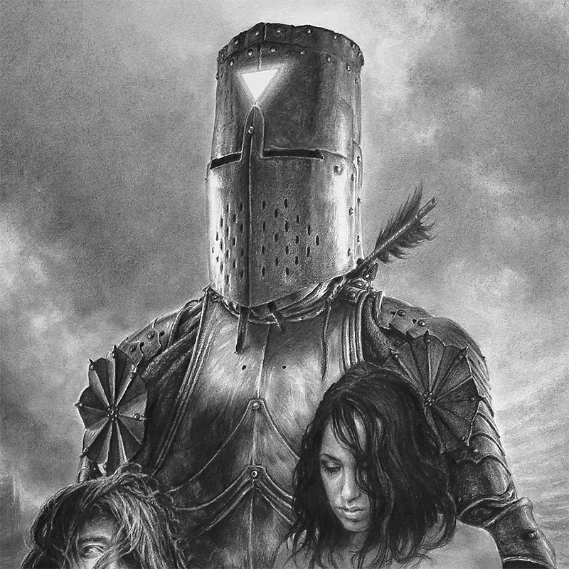 John Kelly Pevahouse - Our Lady Vengeance (Detail 1)