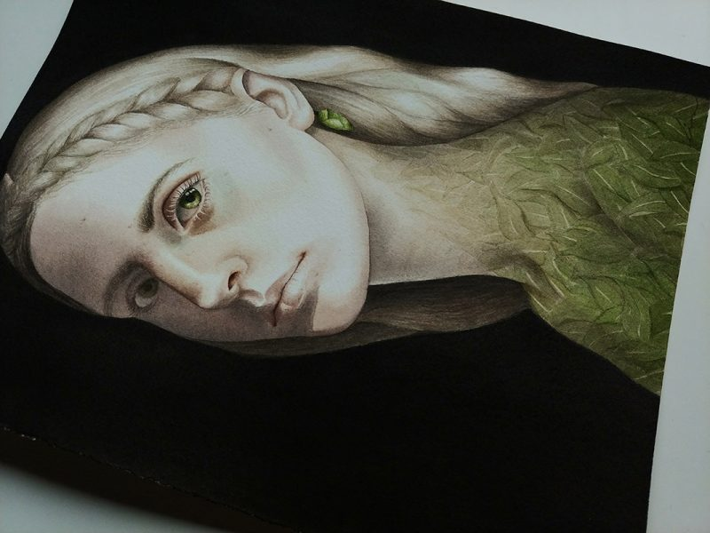 Lira Morina - The Garden of Change (Detail 2)