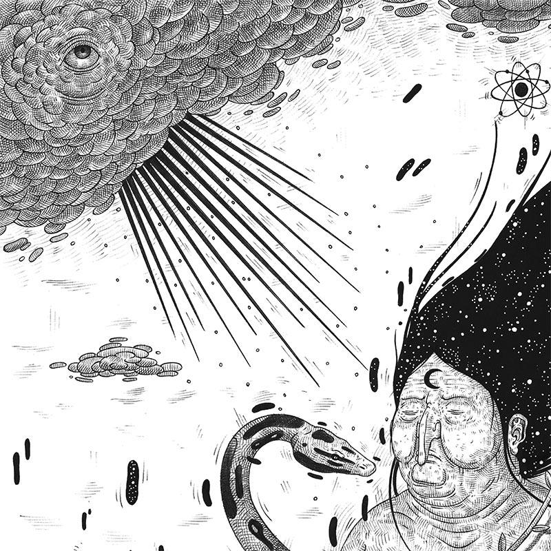 Luca Ledda - Witchcraft (Detail 1)