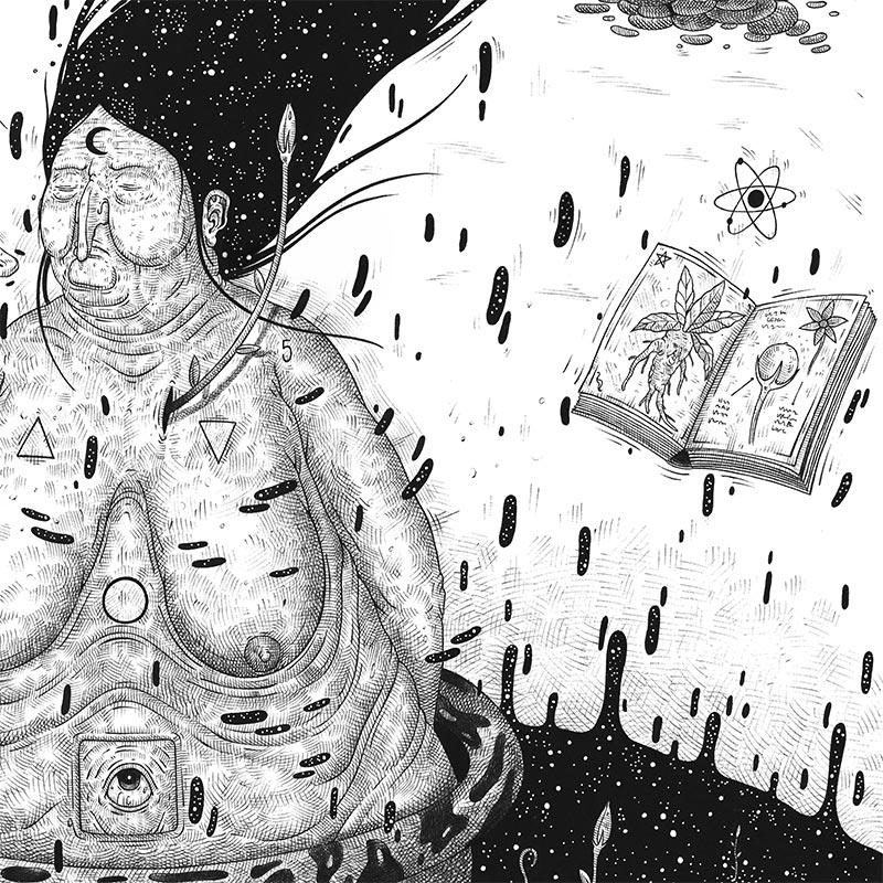 Luca Ledda - Witchcraft (Detail 2)