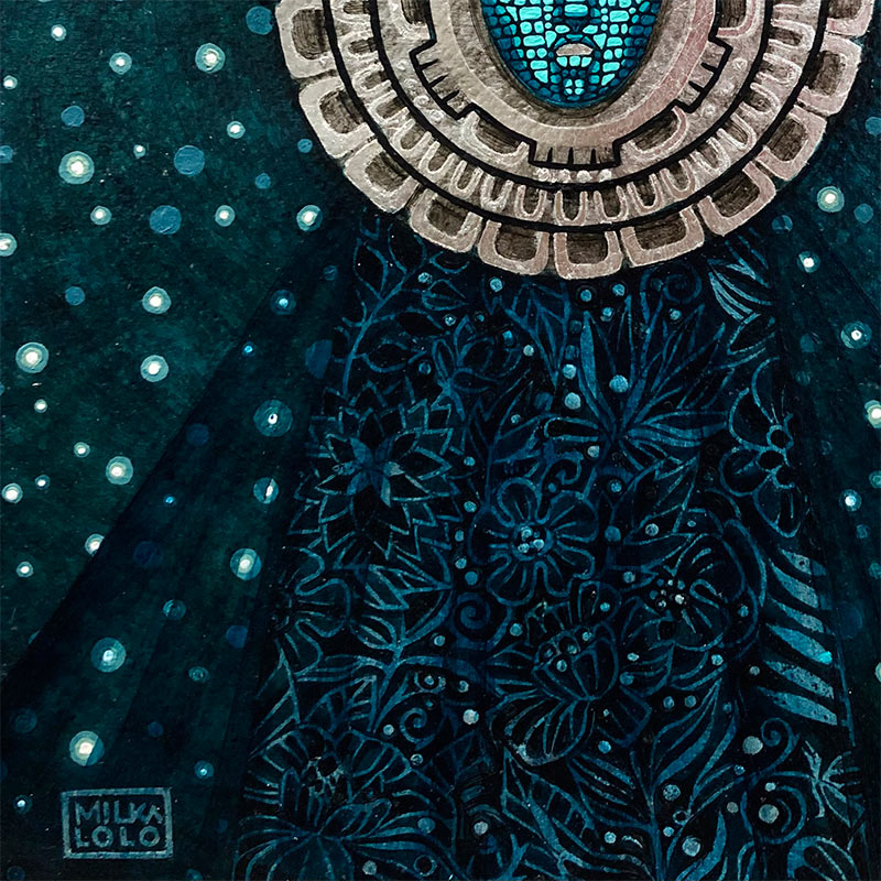 Milka Lolo - Moon Light (Detail 2)
