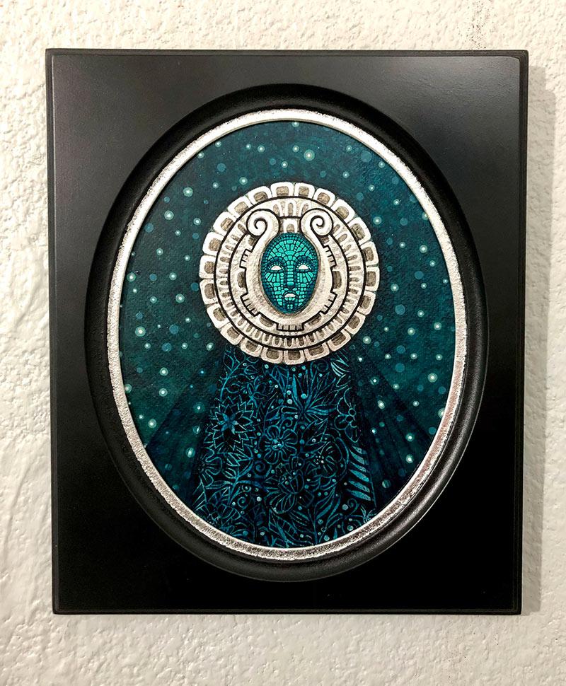 Milka Lolo - Moon Light (Framed - Front)