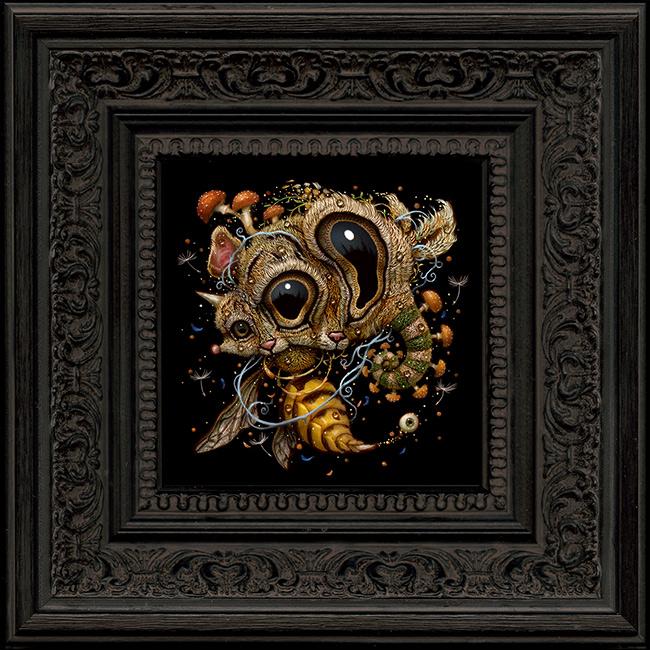 Naoto Hattori - Mind Chaos 2 (Framed)