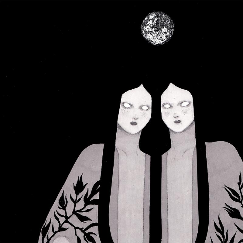 Olga Wieszczyk - The Moon (Detail 1)