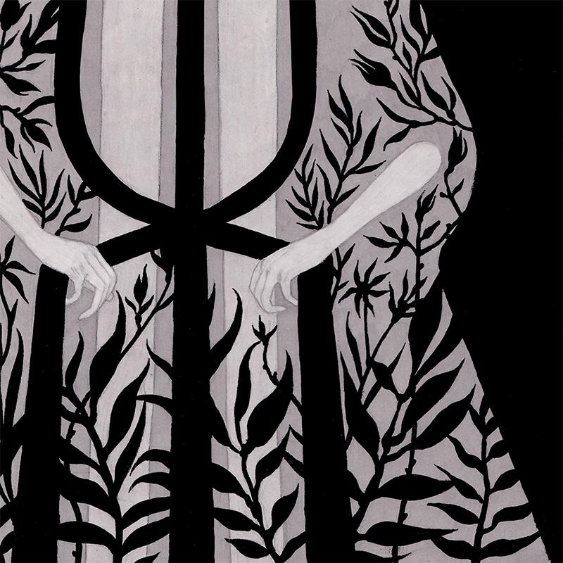 Olga Wieszczyk - The Moon (Detail 2)