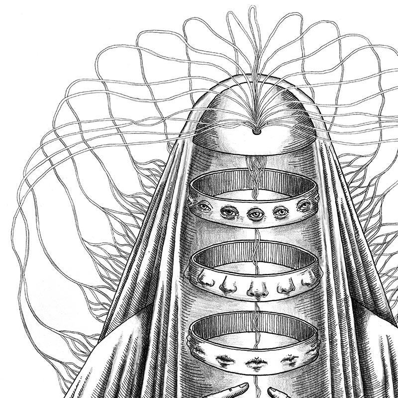 Peter Striffolino - False Seer (Detail 1)