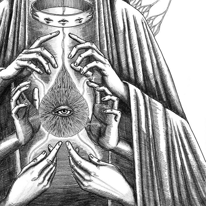 Peter Striffolino - False Seer (Detail 2)