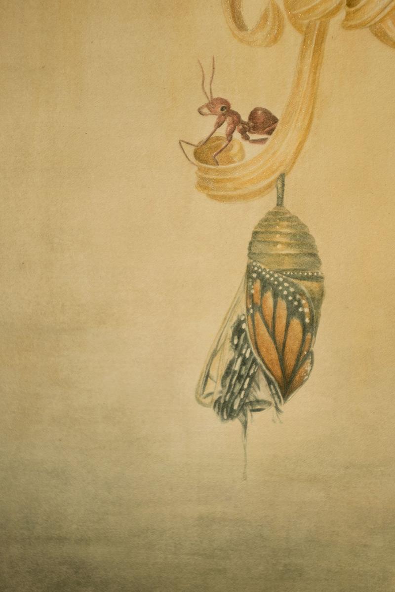 Phuong 'Jacquell' Nguyen - Zhuang Zhou's Dream (Detail 1)
