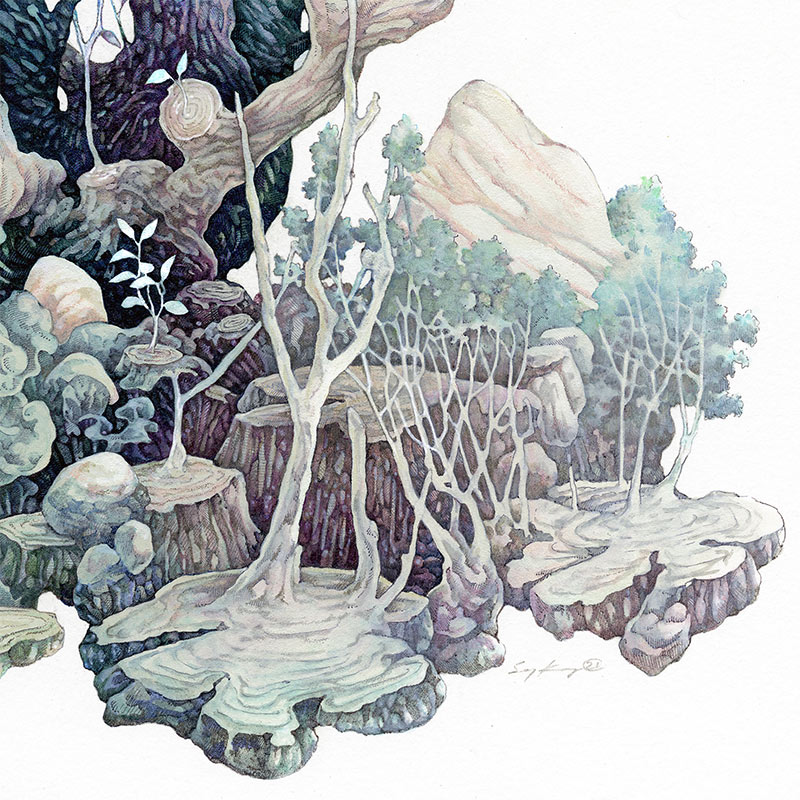 Song Kang - Regeneration (Detail 2)