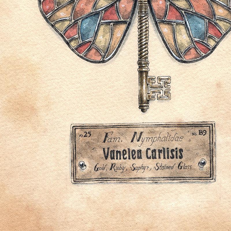 Steeven Salvat - Vanelea Carlisis (Detail 2)