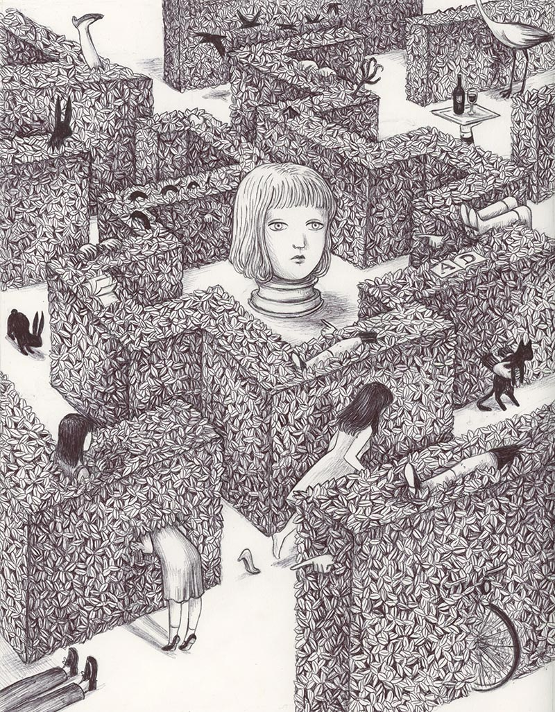 Virginia Mori - Labirinto 6