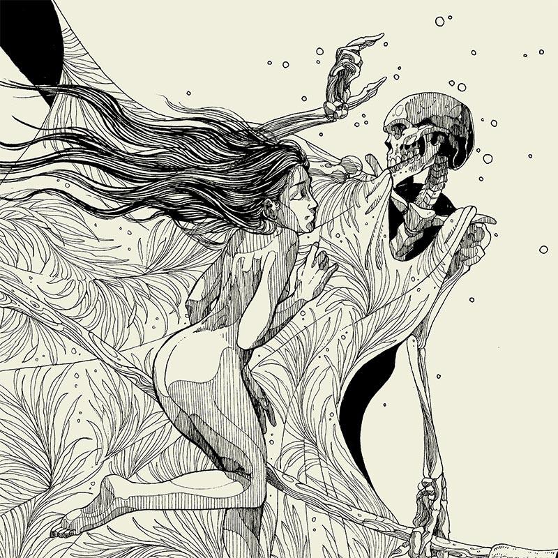Diego Andrade - Beardsley (Detail 1)