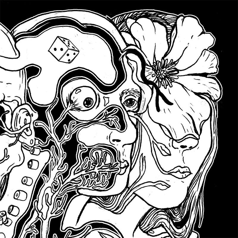 Eva Redamonti - Two Faced (Detail 1)
