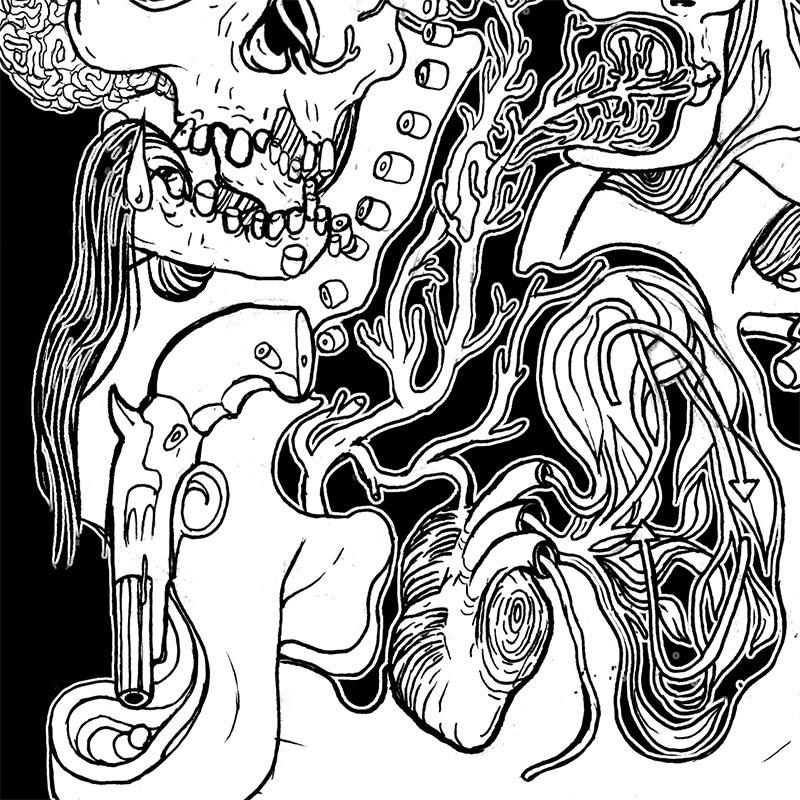 Eva Redamonti - Two Faced (Detail 2)