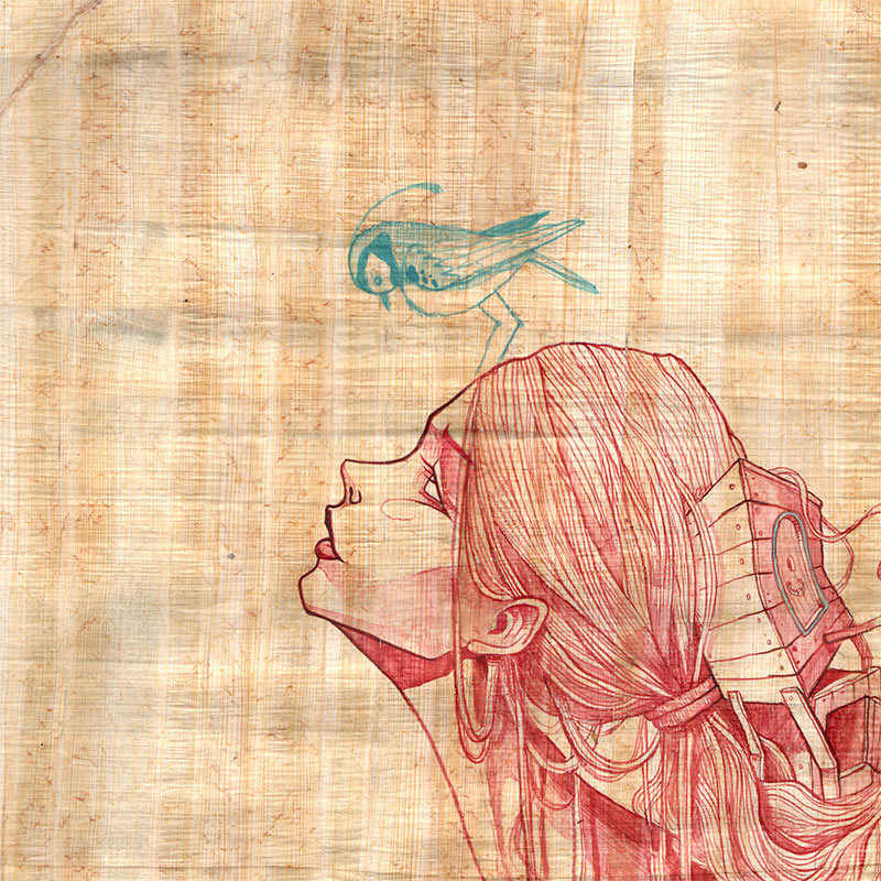 Isaac Malakkai - Daydreamer (Detail 1)